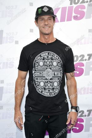 Stock Picture of Danny Way arrives at Wango Tango held at StubHub Center, in Carson, Calif