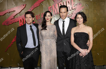 Jack O'Connell, Eva Green, Callan Mulvey and Lena Headey seen at Warner Bros. Premiere of 300: Rise of An Empire, on Tuesday, March, 4, 2014 in Los Angeles