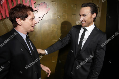 Jack O'Connell and Callan Mulvey seen at Warner Bros. Pictures and Legendary Pictures' Present '300: Rise Of An Empire' Premiere on Tuesday, March, 4, 2014 in Los Angeles