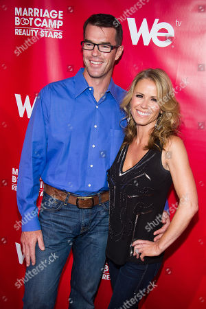 """Trista Sutter and Ryan Sutter attend WE tv's """"Marriage Boot Camp: Reality Stars"""" party on in New York"""