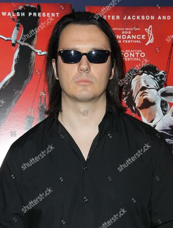 """Damien Echols attends the premiere of """"West of Memphis"""" at Florence Gould Hall on in New York"""