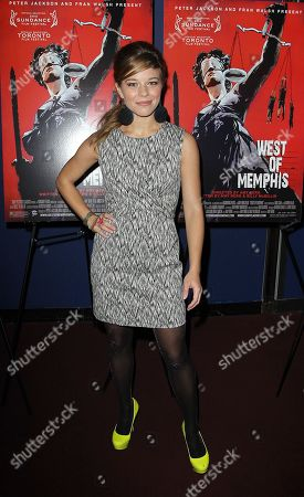 "Savannah Wise attends the premiere of ""West of Memphis"" at Florence Gould Hall on in New York"