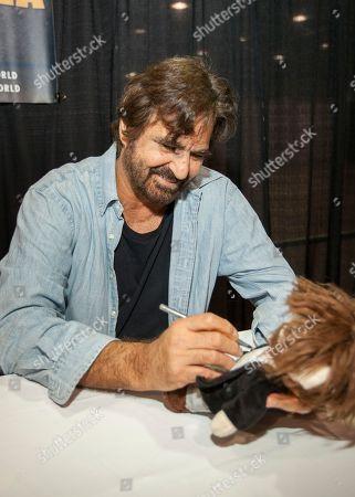 Stock Picture of David Della Rocco appears at the Wizard World Chicago Comic-Con, in Chicago