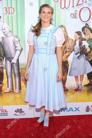 """Stock Picture of Actress Danielle Wade arrives at the world premiere of """"Wizard of Oz"""" 3D at the TCL Chinese Theatre on in Los Angeles"""