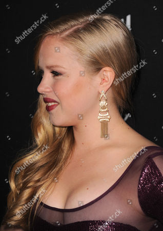 """Sofia Vassilieva arrives at the world premiere of """"Call Me Crazy: A Five Film"""" at the Pacific Design Center on in Los Angeles"""