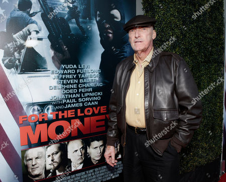 """Actor Ed Lauter arrives at the world premiere of """"For the Love of Money"""" on in Los Angeles"""