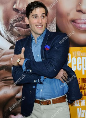 """Jonathan Chase arrives at the world premiere of """"Peeples"""" at the ArcLight Hollywood on in Los Angeles"""
