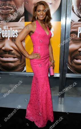 """Kimrie Lewis-Davis arrives at the world premiere of """"Peeples"""" at the ArcLight Hollywood on in Los Angeles"""