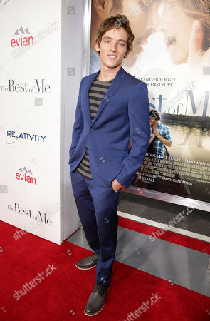 "Robby Rasmussen attends the World Premiere of Relativity Studios' upcoming release ""The Best of Me"" held at Regal Cinemas L.A. Live,, in Los Angeles"