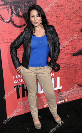"Actress Patricia Rae poses at the premiere of the film ""The Call'"" at the Arclight Hollywood on in Los Angeles"