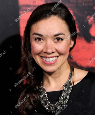 """Stock Picture of Tara Platt, a cast member in 'The Call,"""" poses at the premiere of the film at the Arclight Hollywood on in Los Angeles"""