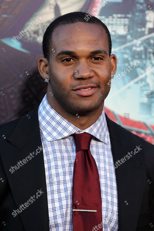 """Bret Lockett attends the world premiere of """"The Amazing Spider-Man"""" at the Regency Village Theatre on in Los Angeles"""