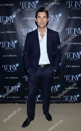 "Stock Picture of David DeSantos attends the ""Broadway To Hollywood"" Cocktail Event - Arrivals held at Sunset Towers on in Los Angeles, California"