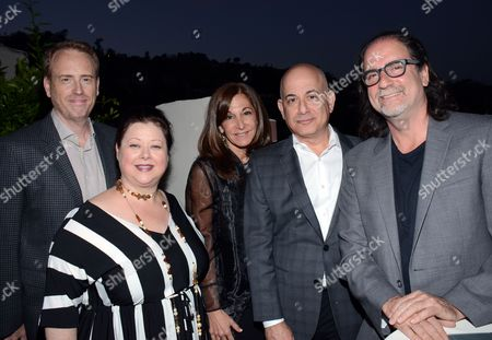 """Editorial picture of """"Broadway To Hollywood"""" Cocktail Event - Inside, Los Angeles, USA - 25 Mar 2015"""