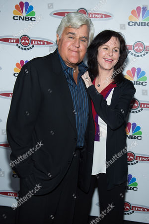 """Jay Leno and Mavis Leno attend """"Jay Leno's Garage"""" series launch party at The Press Lounge at Ink 48, in New York"""