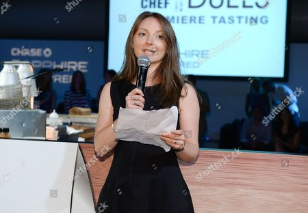 """Stock Photo of City Harvest director of marketing Julia Foster """"Top Chef Duels"""" Premiere Tasting Event, hosted by Chase Sapphire Preferred and Bravo at the Altman Building, on in New York"""
