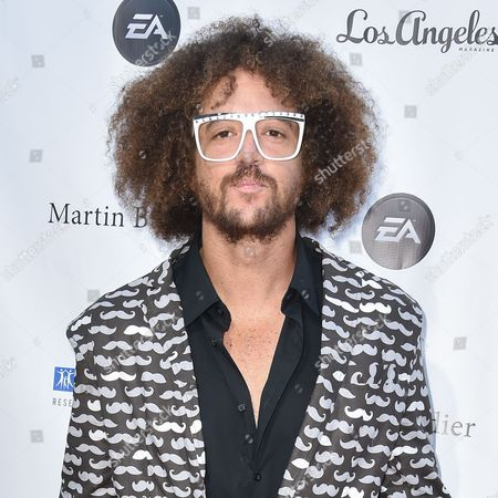 Stock Image of Stefan Kendal Gordy (Redfoo) arrives at the 11th annual Songs Of Hope benefit, in Los Angeles