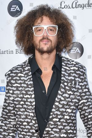 Stock Photo of Stefan Kendal Gordy (Redfoo) arrives at the 11th annual Songs Of Hope benefit, in Los Angeles