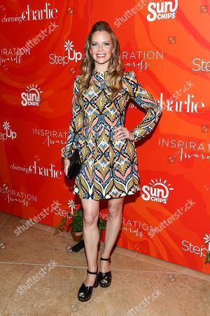 Sarah Jane Morris attends the 13th Annual Inspiration Awards held at the Beverly Hilton Hotel, in Beverly Hills, Calif