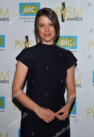Actress Audrey Marie Anderson arrives at the 17th Annual Prism Awards Ceremony at The Beverly Hills Hotel, in Beverly Hills, Calif