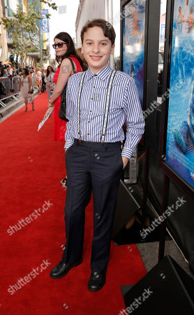 River Alexander attends the premiere of Fox Searchlight Pictures' 'The Way, Way Back' after party at L.A. Live Event Deck on in Los Angeles