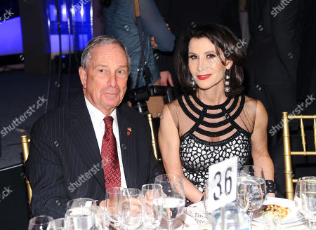 New York Mayor Michael Bloomberg and honoree Katherine Oliver attend the 23rd Annual Gotham Independent Film Awards at Cipriani's Wall Street, in New York