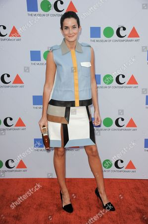 Stock Photo of Lucy Chadwick arrives at the 2013 MOCA Gala celebrating the opening of the Urs Fischer exhibition at MOCA on in Los Angeles