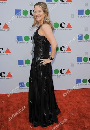 Maria Arena Bell arrives at the 2013 MOCA Gala celebrating the opening of the Urs Fischer exhibition at MOCA on in Los Angeles