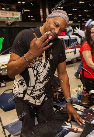 Stock Photo of Actor Tony Todd at the Chicago Comic & Entertainment Expo at McCormick Place, in Chicago