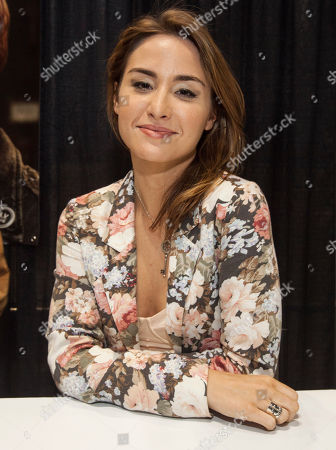 Actress Allison Scagliotti at the Chicago Comic & Entertainment Expo at McCormick Place, in Chicago