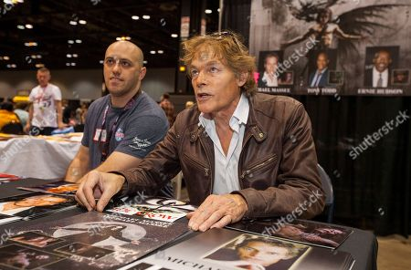 Stock Picture of Actor Michael Massee at the Chicago Comic & Entertainment Expo at McCormick Place, in Chicago