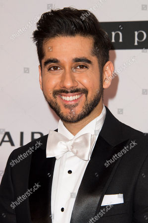 Vinay Virmani attends the 2015 AMBI Gala benefiting The Prince Albert II of Monaco Foundation at The Four Season Hotel, in Toronto