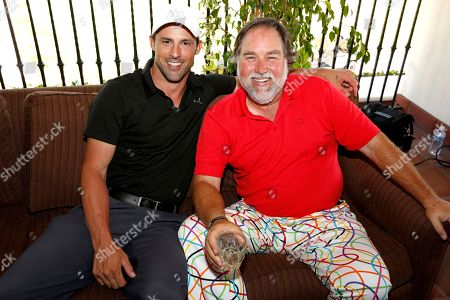 Philip Boyd, left, and Richard Karn are seen at the 16th Emmys Golf Classic presented by the Television Academy Foundation at the Wilshire Country Club on in Los Angeles