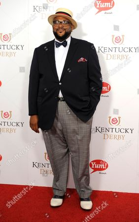 Ruben Studdard arrives on the red carpet at the 2015 Kentucky Derby on at Churchill Downs in Louisville, Ky