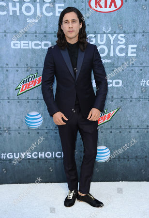 Stock Image of Peter Gadiot attends the 2015 Spike TV's Guys Choice Awards at Sony Studios, in Culver City, Calif