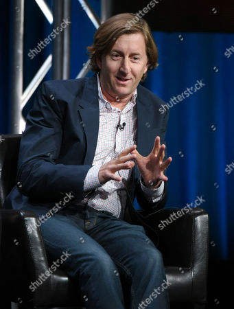 """Executive producer Mike Sikowitz participates in the """"Dr. Ken"""" panel at the Disney/ABC Summer TCA Tour at the Beverly Hilton Hotel, in Beverly Hills, Calif"""