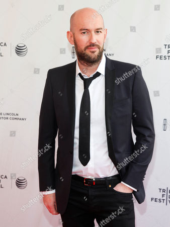 """Ben Palmer attends the Tribeca Film Festival world premiere of """"Man Up"""" at the SVA Theatre, in New York"""