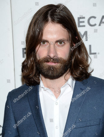 """Stock Photo of Actor Benjamin Rogers attends the Tribeca Film Festival world premiere of """"The Driftless Area"""" at BMCC Tribeca Performing Arts Center, in New York"""