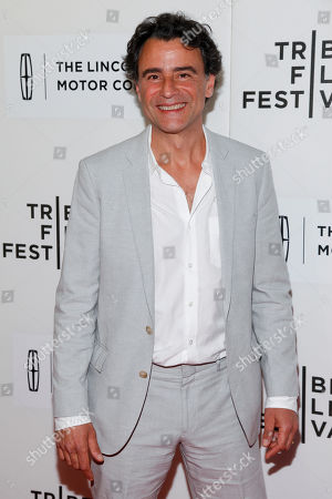 """Vincenzo Amato attends the Tribeca Film Festival world premiere of """"The Wannabe"""", in New York"""