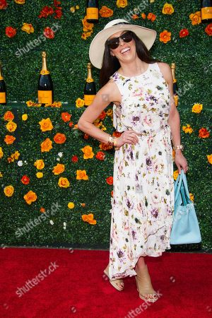 Monique Zordan attends the eighth annual Veuve Clicquot Polo Classic at Liberty State Park, in Jersey City, N.J