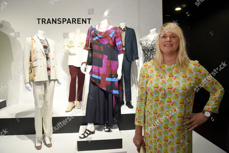 Marie Schley costume designer of Transparent is seen at the 10th Annual Art of Television Costume Design Exhibition opening at the FIDM Museum & Galleries on the Park, in Los Angeles