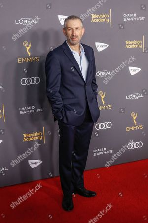Mark Ivanir arrives at the 2016 Primetime Emmy Awards Performer Nominees Reception at the Pacific Design Center, in West Hollywood, Calif