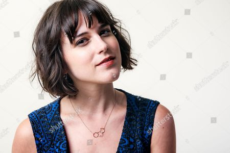 """Stock Photo of Alexandra Socha, a cast member in the Amazon series """"Red Oaks,"""" poses for a portrait during the 2016 Television Critics Association Summer Press Tour at the Beverly Hilton, in Beverly Hills, Calif"""