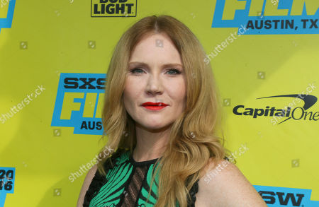 "Tara Buck attends the world premiere of ""Pee-wee's Big Holiday"" during the South by Southwest Film Festival, in Austin, Texas"