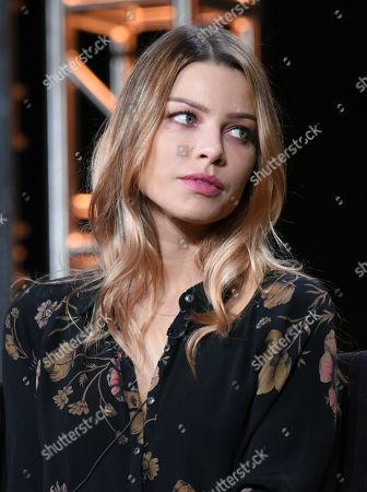 "Lauren German participates in the ""Lucifer"" panel at the Fox Winter TCA, Pasadena, Calif"