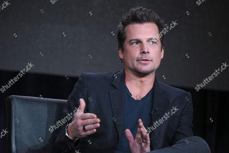 "Executive Producer Len Wiseman participates in the ""Lucifer"" panel at the Fox Winter TCA, Pasadena, Calif"