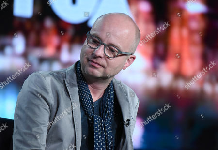"""Stock Image of Creator/Executive Producer Jacco Doornbos participates in a panel for """"The Passion"""" at the Fox Winter TCA, Pasadena, Calif"""