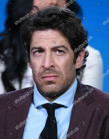"""Don Hany participates in the """"Heartbeat"""" panel at the NBCUniversal Winter TCA, Pasadena, Calif"""