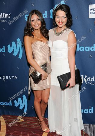 Editorial picture of 24th Annual GLAAD Media Awards, New York, USA - 16 Mar 2013