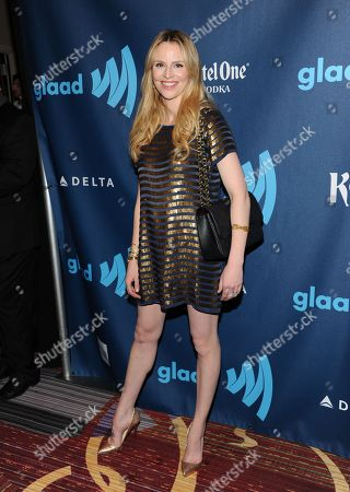 Television personality Rosie Pope attends the 24th Annual GLAAD Media Awards at the Marriott Marquis on in New York